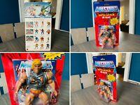 🔥 Masters Universe BATTLE ARMOR HE-MAN Figure SEALED MOTU Commemorative 🔥