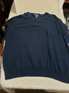 Roundtree & Yorke Mens Pullover Sweater 4XL Long Sleeve Cotton Blend
