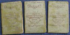 1901 - Guida Itineraria del Touring Club Italiano - En 3 volumes