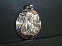 medaille religieuse  Vierge Marie Rosario Fatima  3 x 22 cm   MR 072