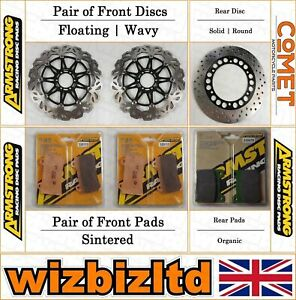 Armstrong and Comet Frein Complet Kit Yamaha XJR 1200 1995-98 BK124139