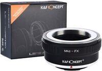 Lens Mount Adapter for M42 Lens to Fujifilm Fuji X-Series X FX Mirrorless Camera