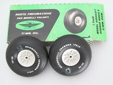 AVIOMODELLI VINTAGE AIRCRAFT RUBBER WHEELS