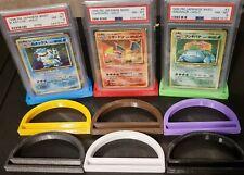 Magic Pokemon Pack of 3 PSA Graded Card Stand  PSA Card Holder Sport YuGiOh