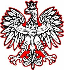 Vinyl Decal- Polish Eagle sticker Country window car TRUCK wall Graphics
