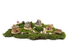 Beetrie 12pcs Fairy Garden Ancient World Diy Kit with House Stone Hedgehog
