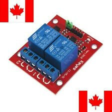 2 Channel 5V Relay Adapter Module for Arduino Uno Mega Dual SHIPS FROM CANADA