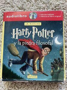 Harry Potter Ser.: Harry Potter y la Piedra Filosofal by J. K. Rowling (CDs)