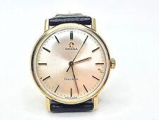 OMEGA GENEVE mecánico calibre 601 De Oro Amarillo 9ct. usado 34mm. 1968 Reloj de hombre