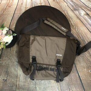 Jansport Brown Messenger Bag  School Laptop