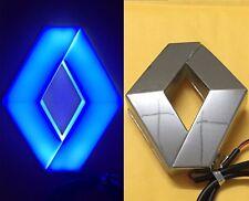 4D Car Logo Blue Light for Renault Koleos Megane Auto Badge Light
