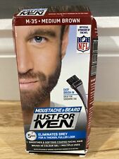 Just For MEN M35 Moustache and Beard Medium Brown