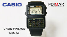 VINTAGE CASIO DBC-60 CALCOLATRICE,DATA BANK, QW.563 JAPAN, ANNO 1985