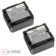 2x Battery for Panasonic GS98GK H288GK VW-VBG070 VW-VBG070A VWVBG070