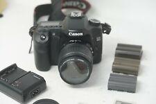 Canon EOS 40D 10.1MP Digital SLR Camera - Black with Canon 18-55mm AF lens Lens