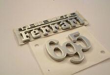 fregio stemma logo 500 ABARTH 695 TRIBUTO FERRARI ORIGINALE new genuine emblem