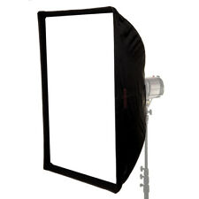 Easy-Open Umbrella Softbox Silver Interior Diffusion Portable 70cm x 100cm