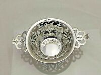Antique Sterling Solid Silver Quality Dish 1910 (1805-9-LSY)