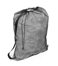 Nylon Mesh Drawstring Backpack – Soccer Sports, Dirty Laundry, Gym Bag