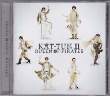 KAT-TUN III - Queen Of Pirates - CD (Jaca-5101 Storm inc. Japan) No Obi Strip