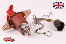 Battery Isolator Switch Cut Off 12V 200A 04 Heavy Duty Power Kill with Metal Key