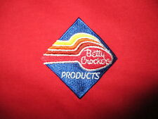 BETTY CROCKER T SHIRT Embroidered Spoon Logo Cook Chef Baking Products vtg XL