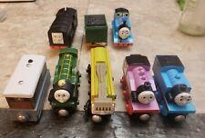 Thomas & Friends Wooden/Plastic Trains Lot of 8 Rosie, Toby,Emily,Diesel 10