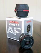 Samyang AF 35mm F/2.8 FE Lens w/ HOYA HD3 Polarizer for Sony E-mount