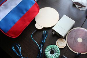 Mishin's Coil Vortex Medicine Device for Treatment of Diseases Disk Reel Tesla