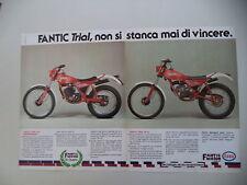 advertising Pubblicità 1983 MOTO FANTIC TRIAL 50/240 PROFESSIONAL