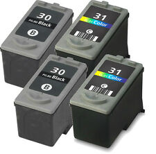 4pk For Canon PG-30 CL-31 Black/Color Ink For PIXMA iP1800 iP2600 MX300 MX310