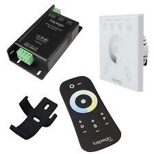 Dual Weiß-licht Toccare Radio LED Controller 12/24V 15A / Striscia Cw-Ww
