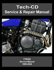 Yamaha TTR250 Service & Repair Manual 1999 2000 2001 2002 2003 2004 2005 2006