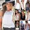 Sexy Women Ladies Summer Vest Tank Crop Tops Blouse Casual Beach T Shirt Fashion