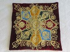 Patchwork Velvet Decorative Cushions & Pillows