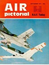 AIR PICTORIAL 9/71 RAF HP VICTOR SR.2_HARRIER_HERCULES_PHANTOM_LOFTLEIDIR ICELAN