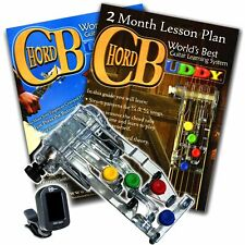 Chord Buddy Guitar Learning System Right W Tuner Teaching Book Lesson ChordBuddy