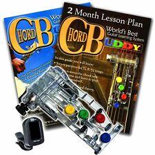 Chord Buddy Guitar Learning System Right w Tuner Teaching Book Lesson Chordbuddy
