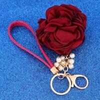 New Car Accessories Bag Pendant Jewelry Multicolor Fashion Tassel Key Ring N3
