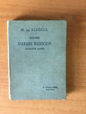 COURS D'ARABE MAROCAIN première année