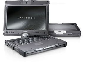Dell Latitude XFR XT2 Intel Core2 Duo Win7 Rugged Convertible Laptop Tablet