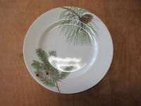 "Royal Stafford England SPRUCE Dinner Plate 11"" Pinecones 1 ea    4 available"