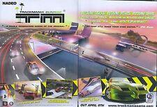 Track Mania Sunrise TM 2005 Magazine Double Page Advert #4851