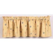 French Country Valance Window Curtains