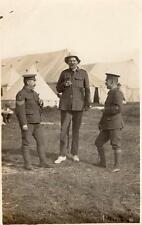 WW1 Royal Artillery Gunnery Instructor Sergeants RP Postcard Dated 1914 Tall Man