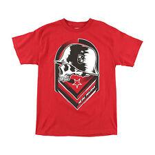 Metal Mulisha Men's Rival Motocross Logo Tee FMX Skull and Helmet T-shirt NWT