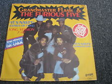 Grand Master Flash & The Furious Five-It´s Nasty 12 inch Maxi LP-1981 Germany
