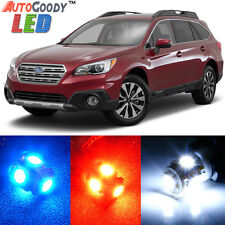 12 x Premium Xenon White LED Lights Interior Package for Subaru Outback + Tool