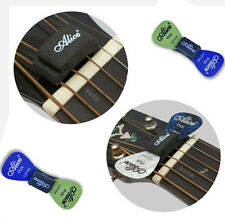 Guitar HeadStock Rubber Pick Holder&2Pcs Plectrums Celluloid Guitar Picks SET hs