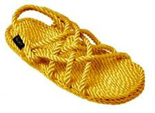 Gurkees Rope Sandals - Neptune Yellow Womens 7 Gurkee